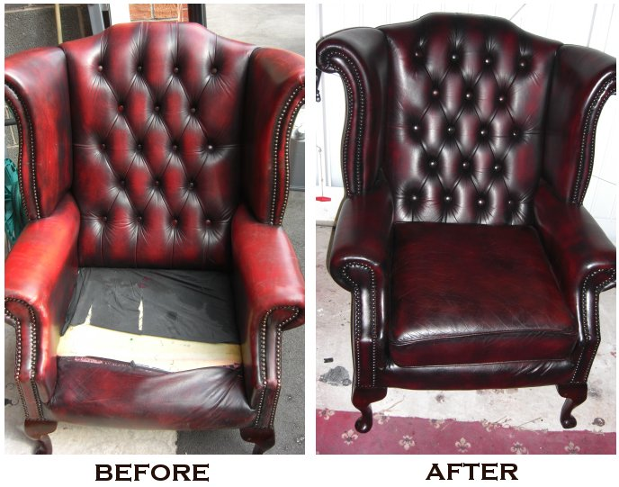 Chesterfield Chair Restoration